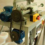 Tiptopwinding windingmachine without cover